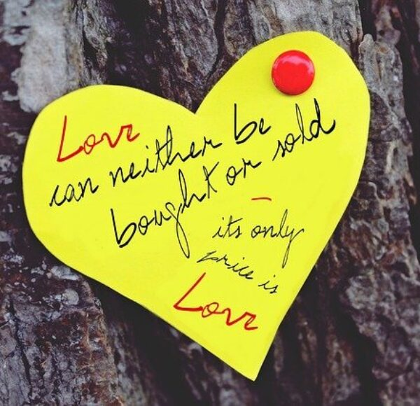 Finding And Reading Sad Love Quote